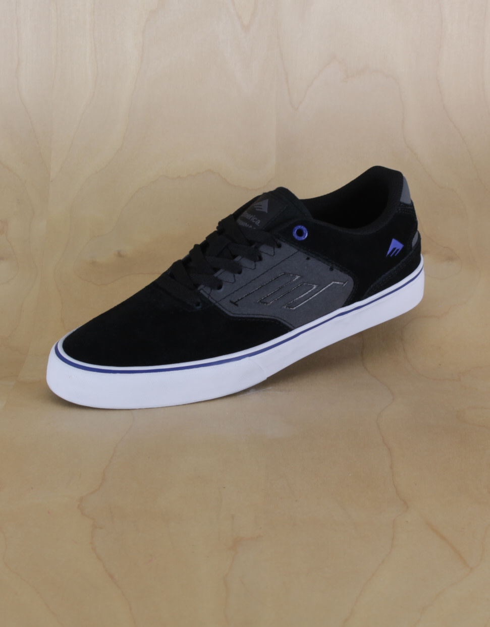Emerica Emerica - Reynolds Low Vulc Black/Grey/Blue