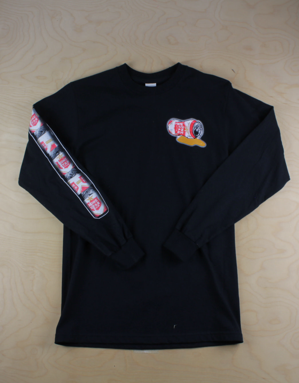 Ribsman - Bone Star L/S Black
