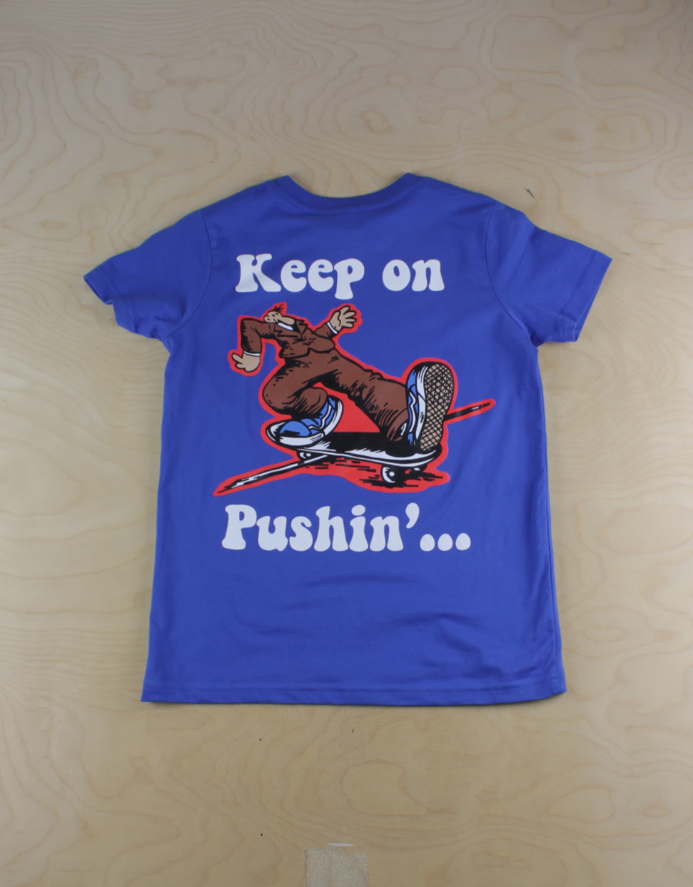 The Point The Point - Keep On Pushin S/S Bright Royal Youth