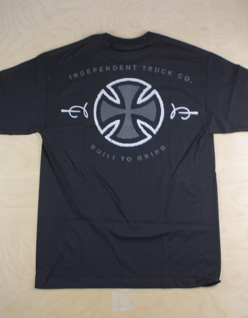 Independent Indy - Metallic BTG S/S Black