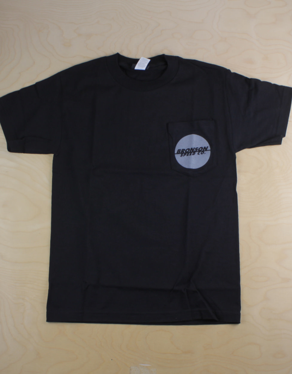 Bronson Bronson - One Color Spot S/S Pocket Tee Plack/Grey