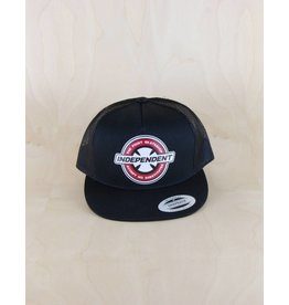 Independent Indy - The Point Accept No Substitutes Trucker Black