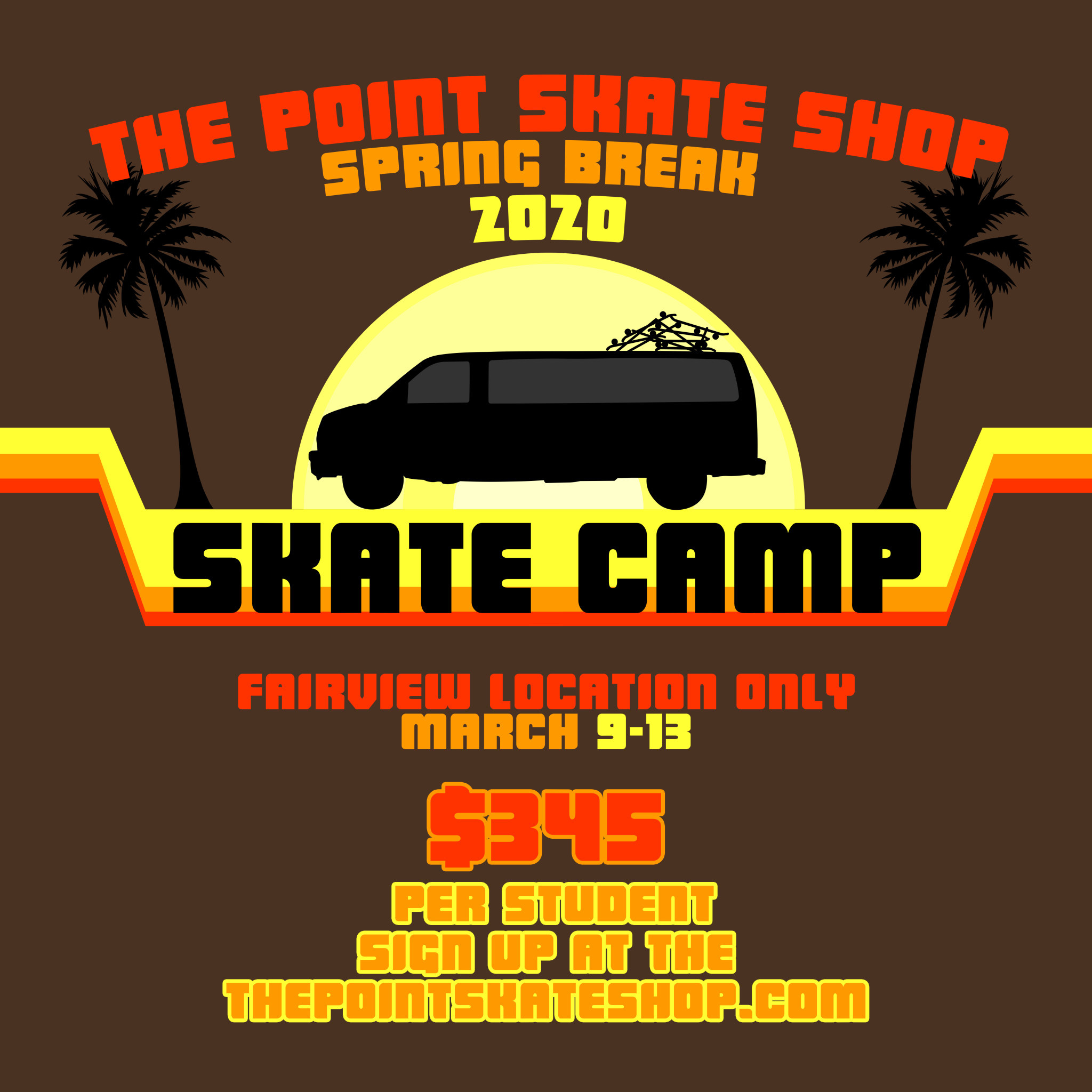 The Point Spring Break Camp 2020 Single Day