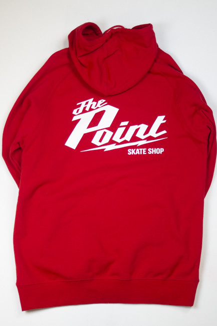 The Point The Point - Millie Hoodie Red
