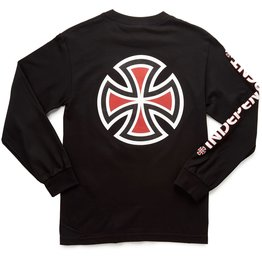 Independent Independent - Bar/Cross L/S Regular  Black