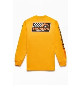 Bronson Bronson - Victory Lap L/S Regular T-Shirt Gold Speed Co.