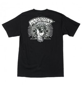 Independent Independent - Shredded S/S Regular T-Shirt Black