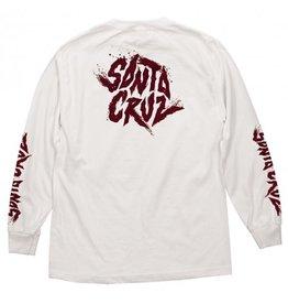 Santa Cruz Santa Cruz - Flare L/S Regular T-Shirt White