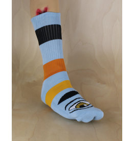 Toy Machine Toy Machine - Sect Eye Big Stripe Sock Baby Blue
