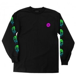 Slime Balls Slime Balls - Totally Normal L/S Regular T-Shirt Black