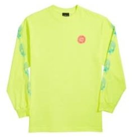 Slime Balls Slime Balls - Totally Normal L/S Regular T-Shirt Safety Green