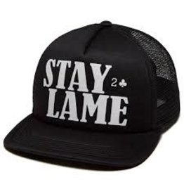 Low Card Low Card - Stay Lame Black/White Mesh