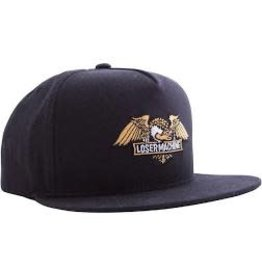 Loser Machine Loser Machine - Wings Snapback Black