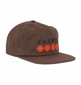 Independent Independent - Ante Crosses Snapback Low Profile Hat Independent