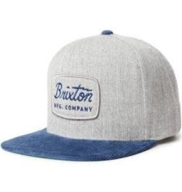 Brixton Brixton - Jolt Snapback Heather Grey/ Navy