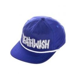 Deathwish Deathwish - Outline Royal Blue Snapback