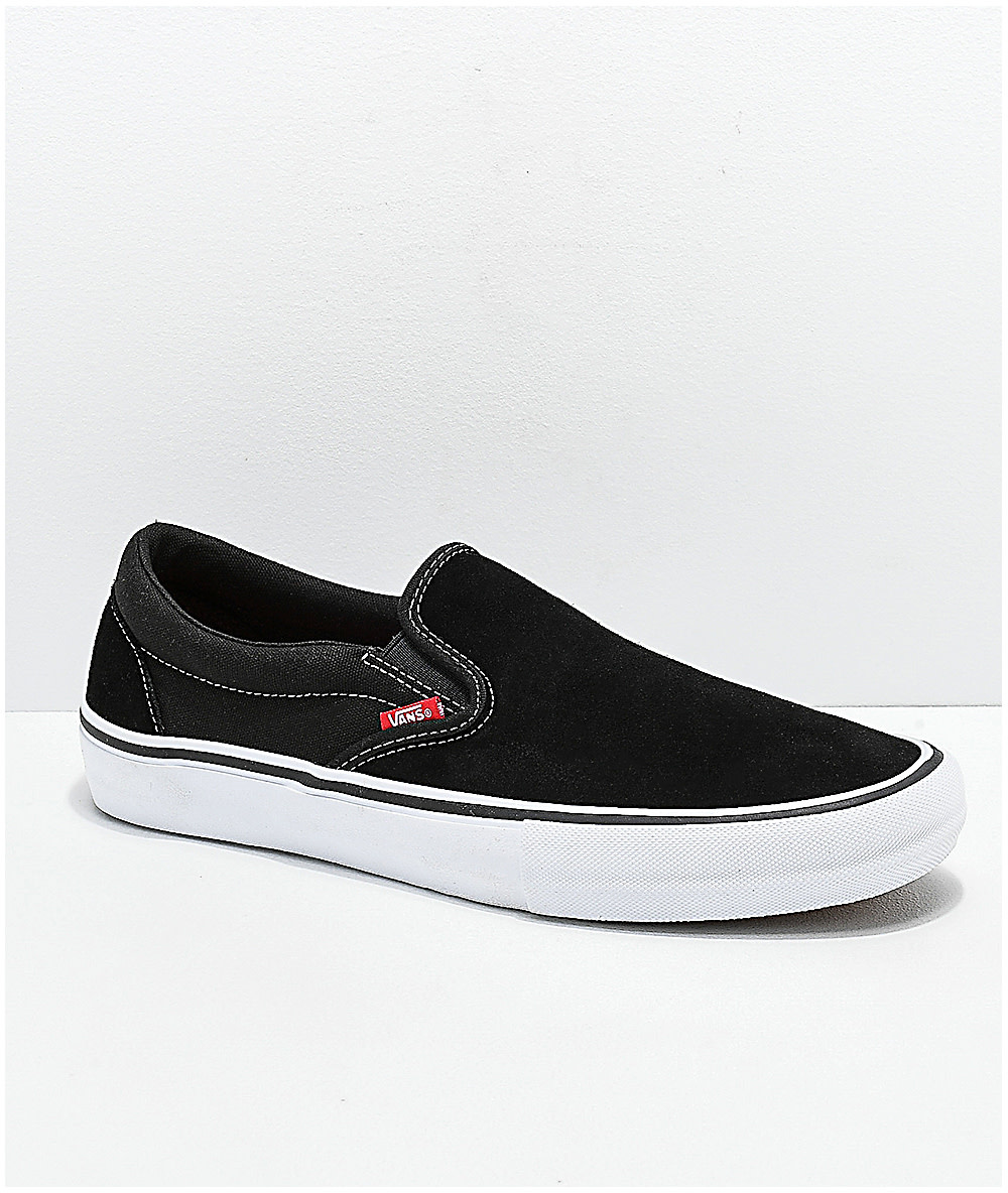Vans Vans - Slip-On Pro Black/White
