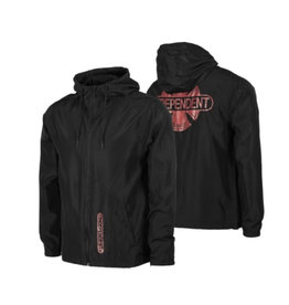 Independent Independent - Baseplate Hooded Windbreaker L/S  Black