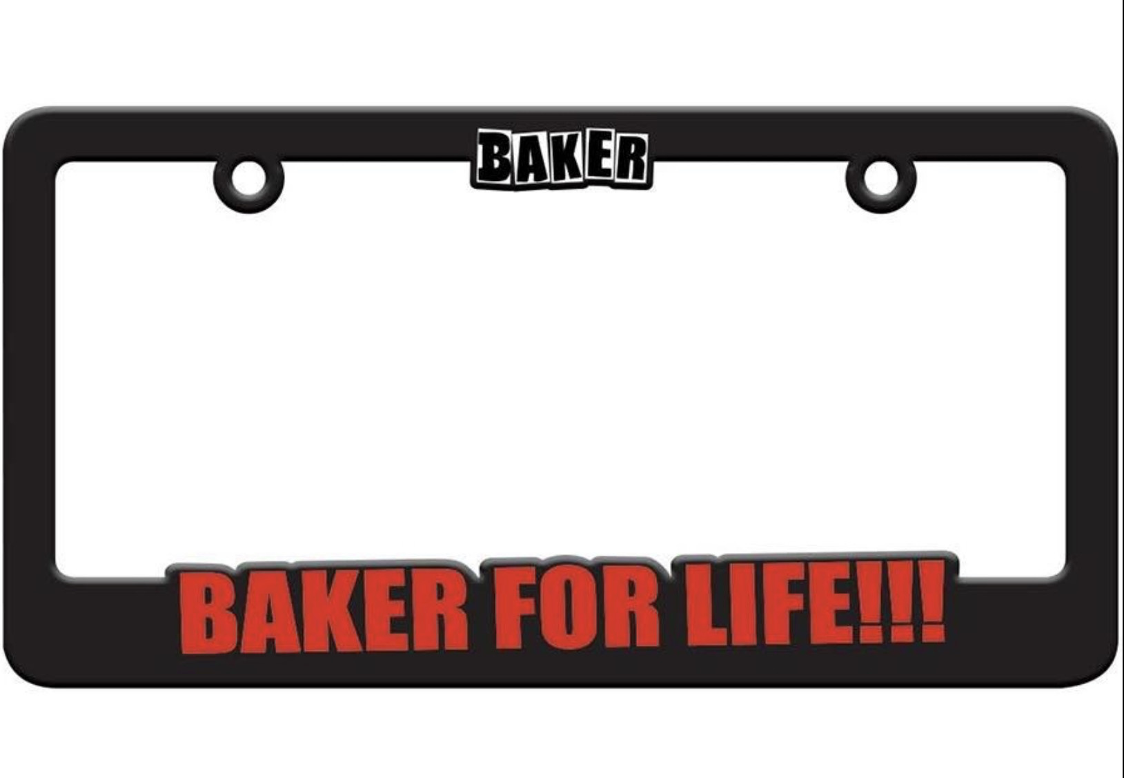 Baker Baker - Baker 4 Life License Plate Frame