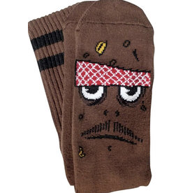 Toy Machine Toy Machine - Poo Poo Head Sock Brown