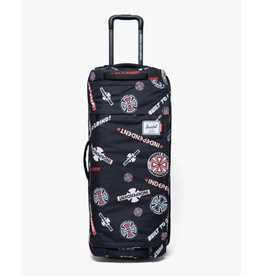 Herschel Herschel - Indy 120L Wheelie Outfitter Black/White/Red