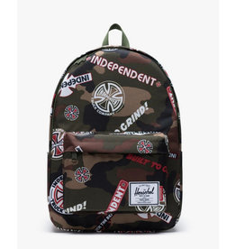 Herschel Herschel - Indy Classic 600D Backpack Camo/White/Red