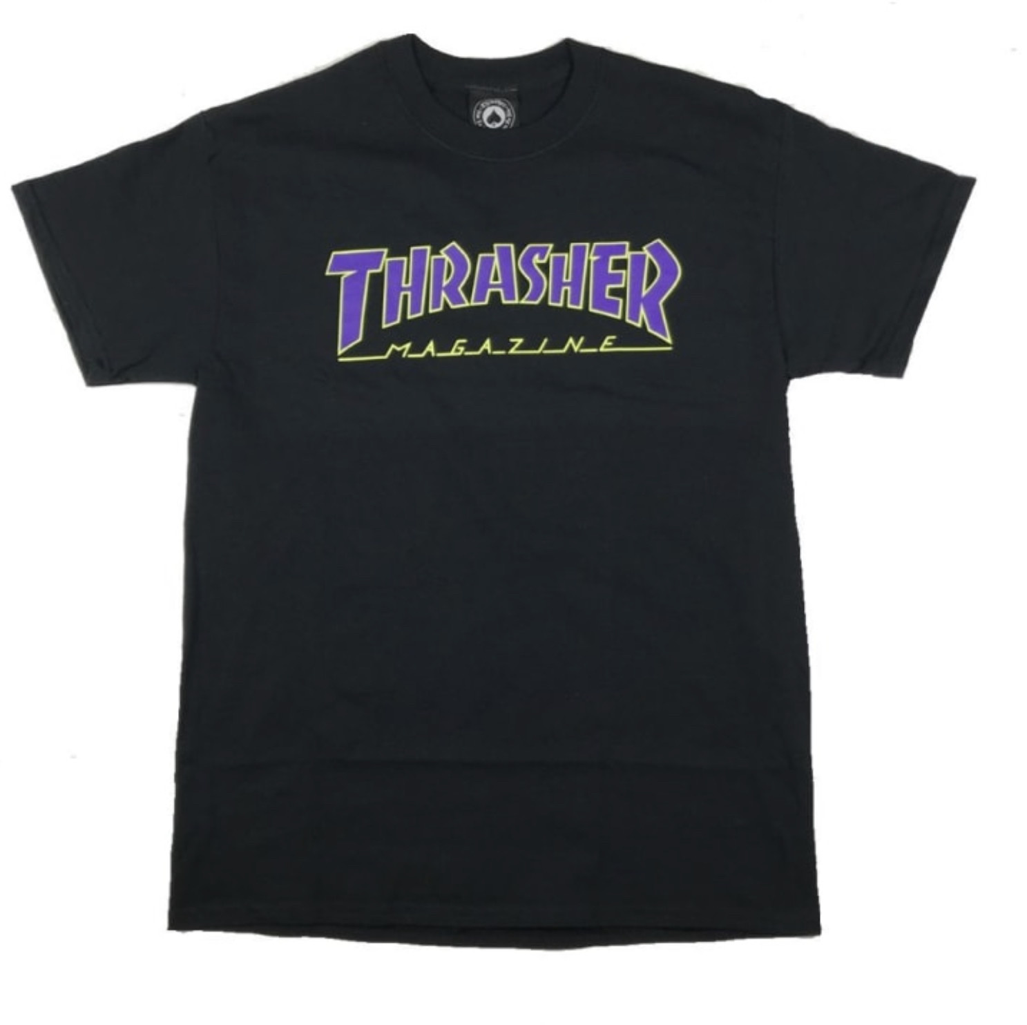 Thrasher Thrasher - Outlined SS Black/Purple