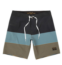 Dark Seas Dark Seas - Rayleigh Boardshort Blue/Black