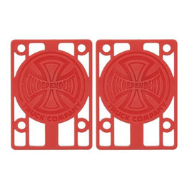 Independent Independent - 1/8 Riser Pad Red