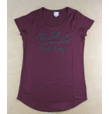 The Point The Point - Classic Bolt Womens S/S Burgundy