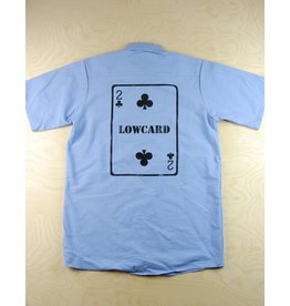 Low Card Low Card - Blue Card Button Up
