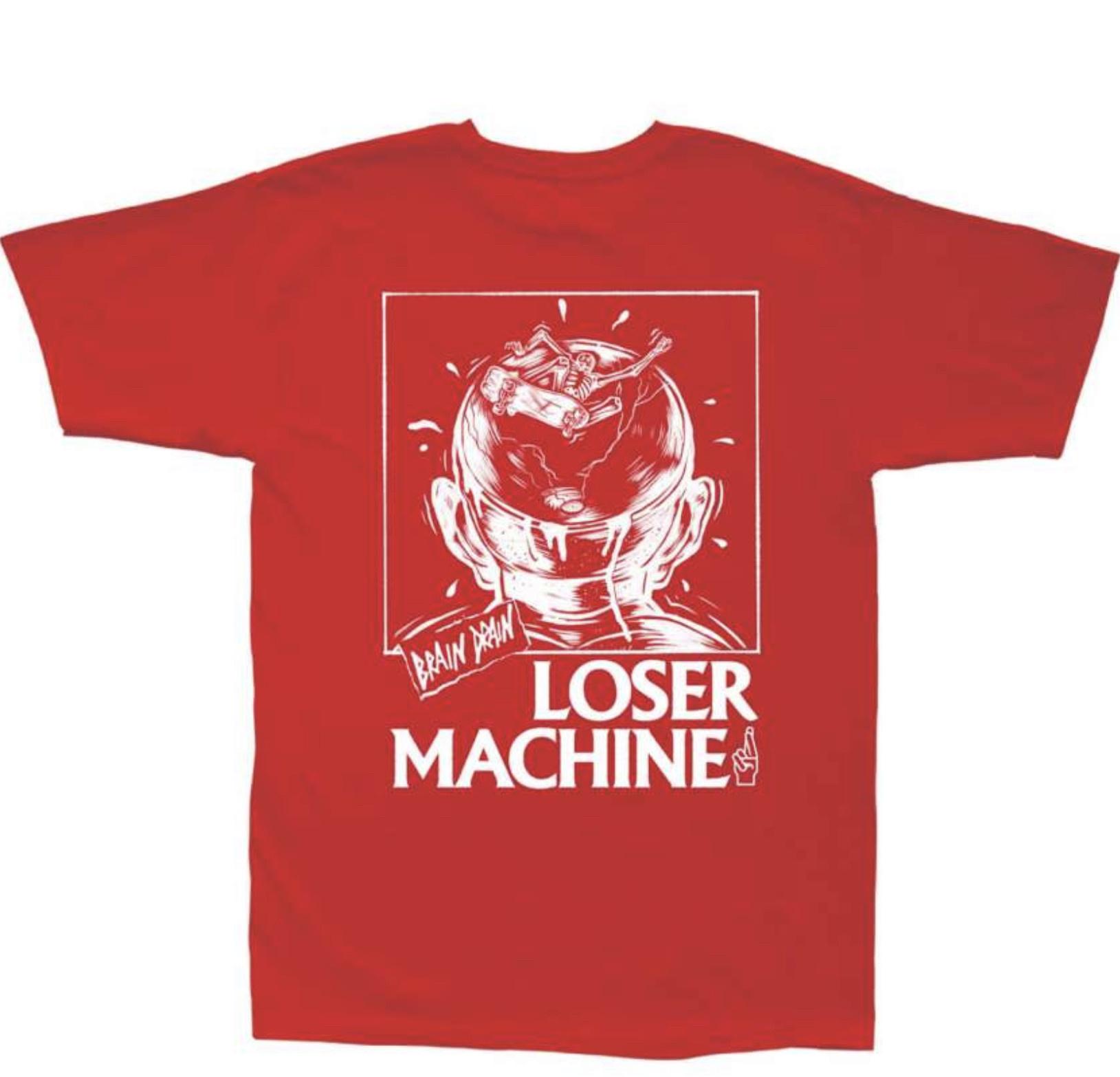 Loser Machine Loser Machine - Brain Drain SS Red