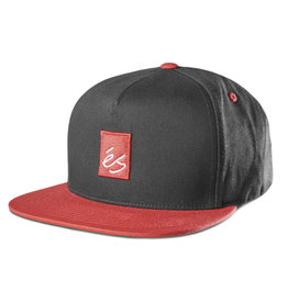 Es eS - Main Block Snapback Black/Red
