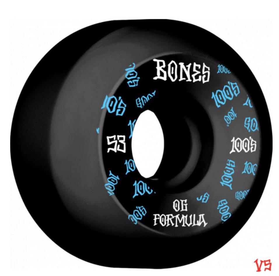 Bones Bones - 100's Black