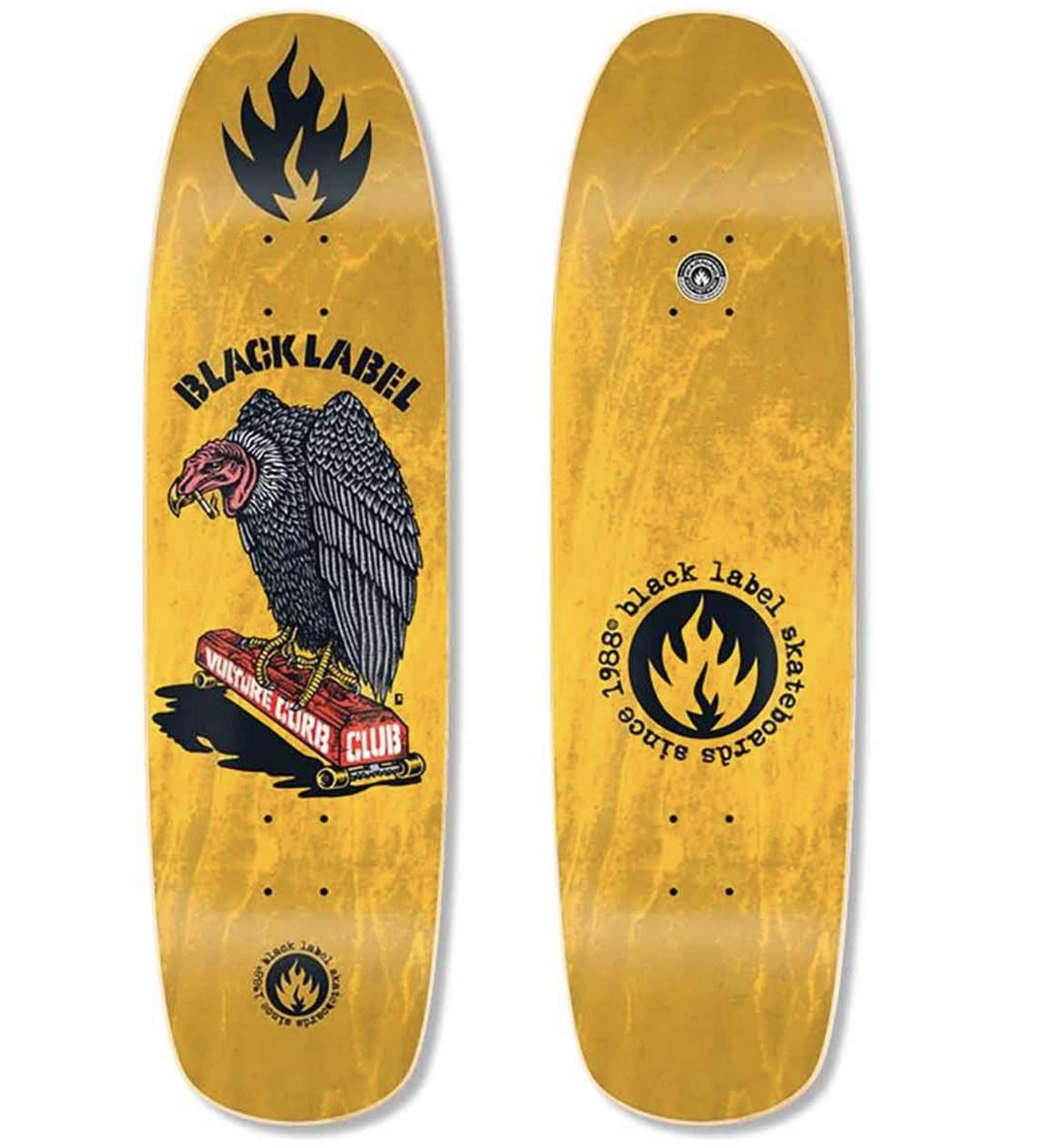 Black Label Black Label - 8.88 Vulture Curb Club Yellow