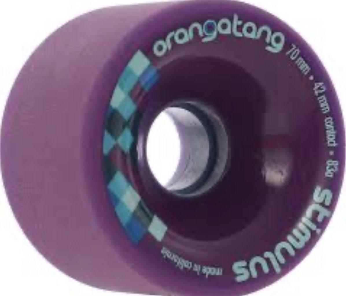 Orangatang Orangatang - 70mm 83a Stimulus Purple