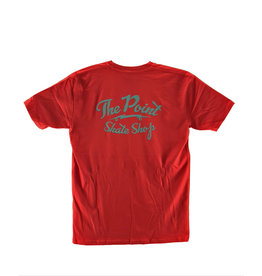 The Point The Point - Classic Logo SS Red/Teal