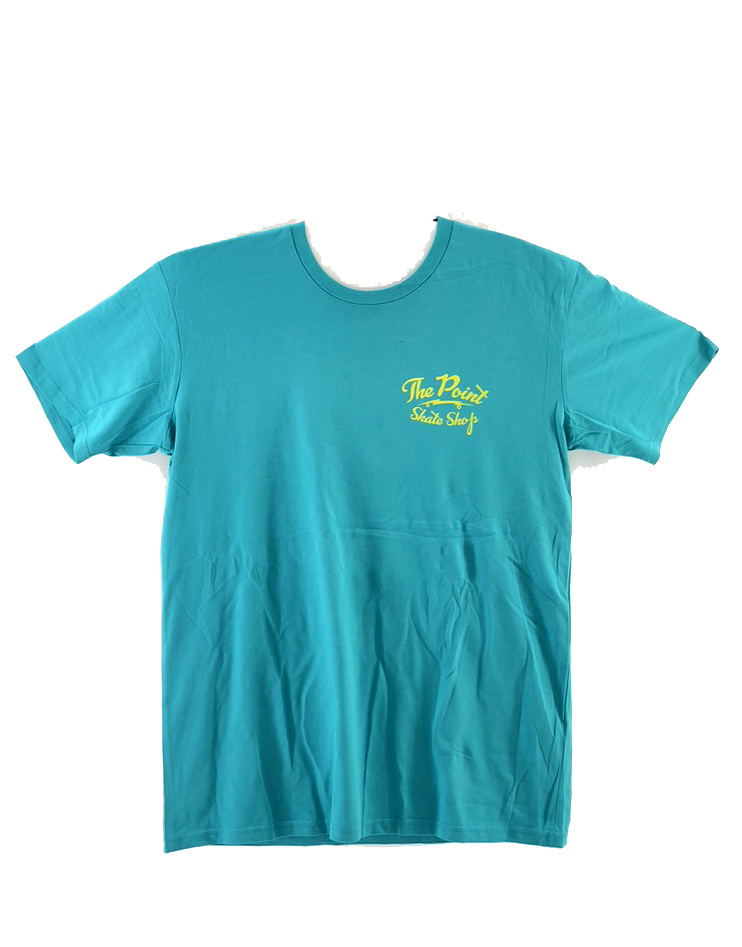 The Point The Point - Classic Logo SS Teal/Yellow