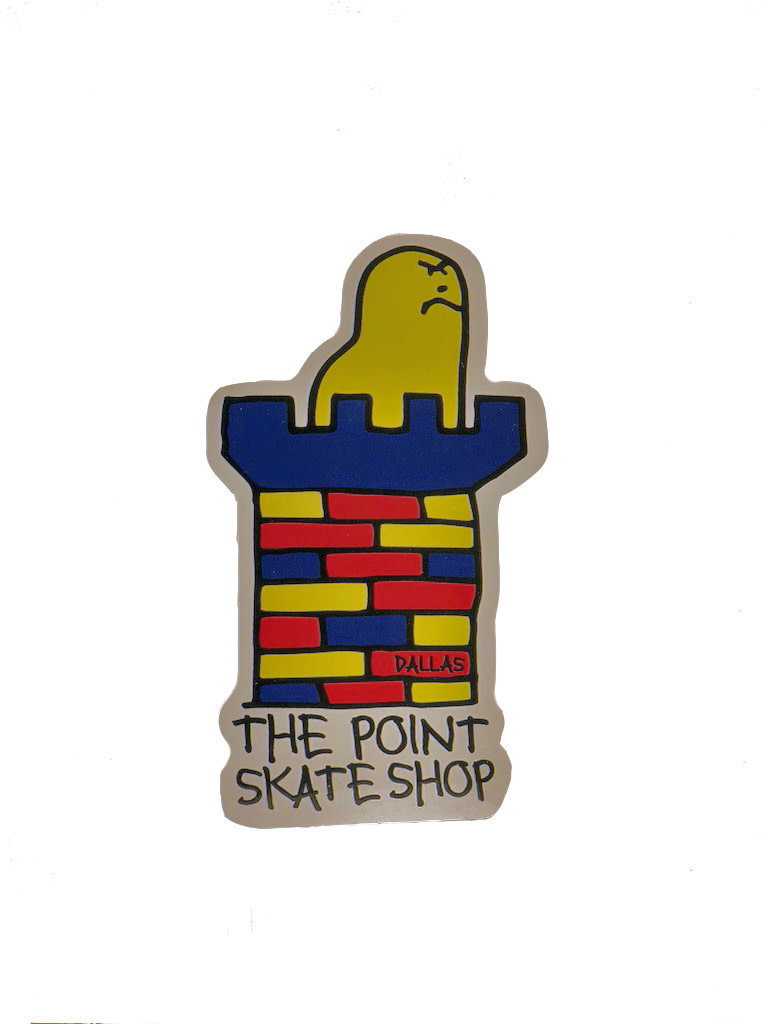 The Point The Point - Point X Gonz sticker