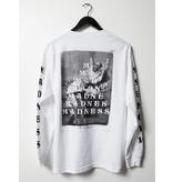 Madness Madness - Trickle Down Premium LS White