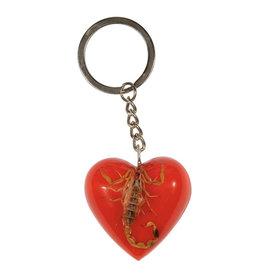 Santa Cruz Santa Cruz - Poison Heart Keychain Red