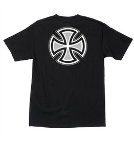 Independent Independent - Rebar Cross S/S Regular T-Shirt Black