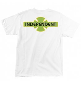 Independent Independent - O.G.B.C. Streak S/S Regular T-Shirt White