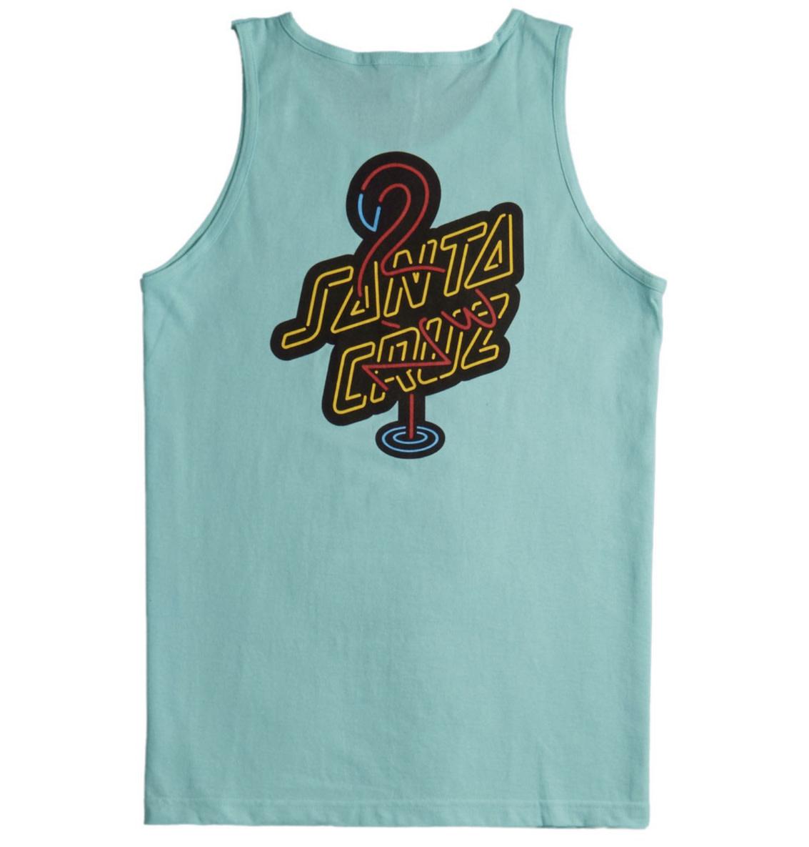 Santa Cruz Santa Cruz - Glow Tank Regular T-Shirt Celadon