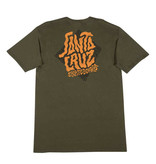 Santa Cruz Santa Cruz - Passage S/S Regular T-Shirt Military Green