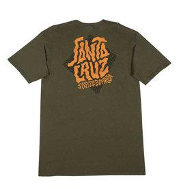 Santa Cruz Santa Cruz - Passage S/S Regular T-Shirt Military Green