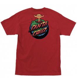 Santa Cruz Santa Cruz - Doom Dot S/S Regular T-Shirt Red