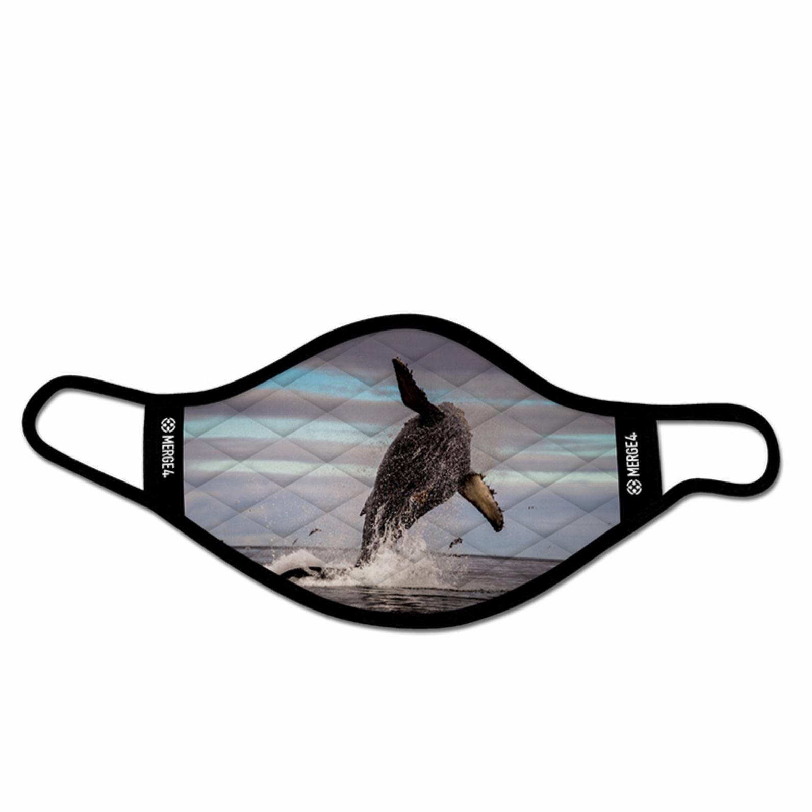 Merge 4 Merge 4 -Dave Nelson Whale Mask