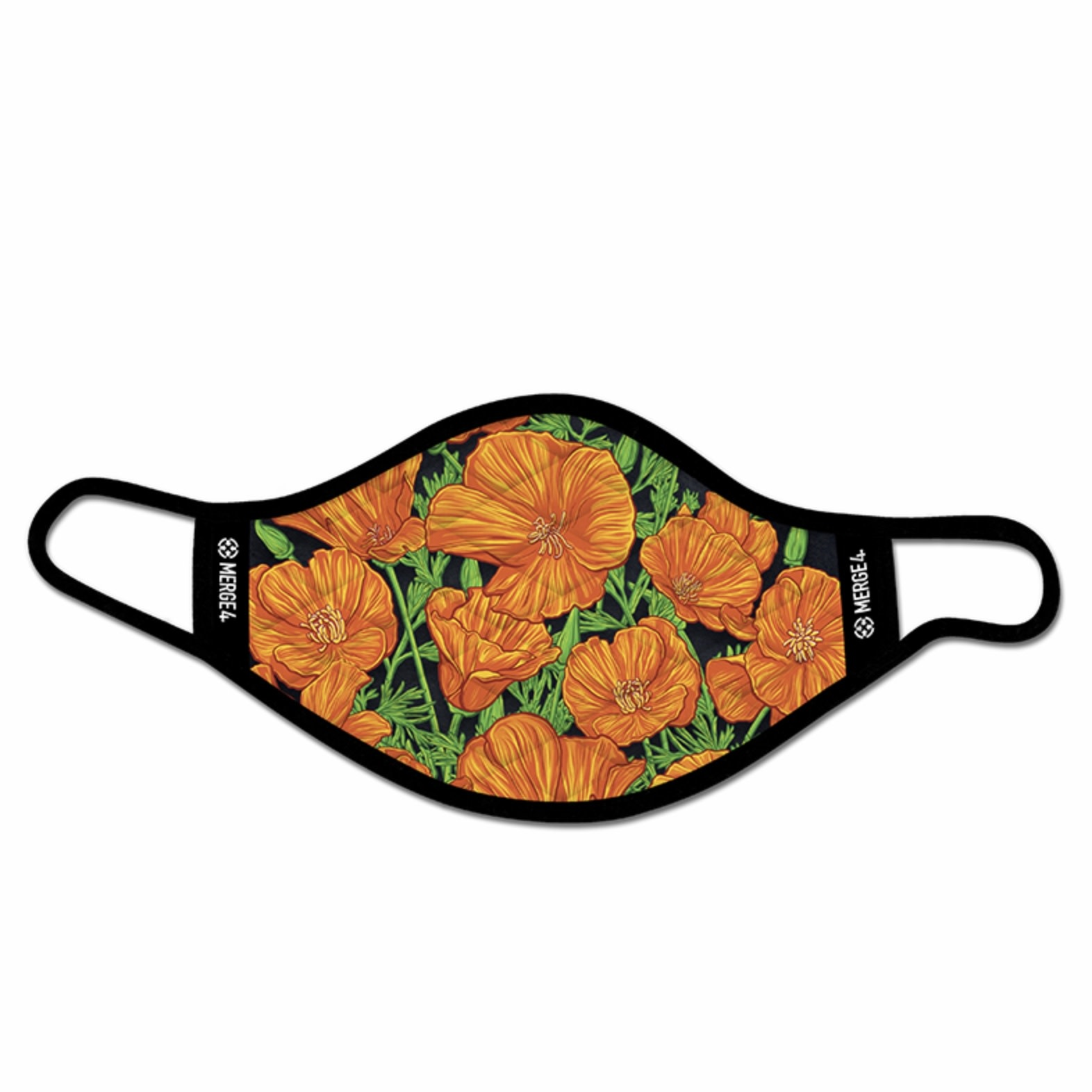 Merge 4 Merge 4 -Slogan Poppies Mask