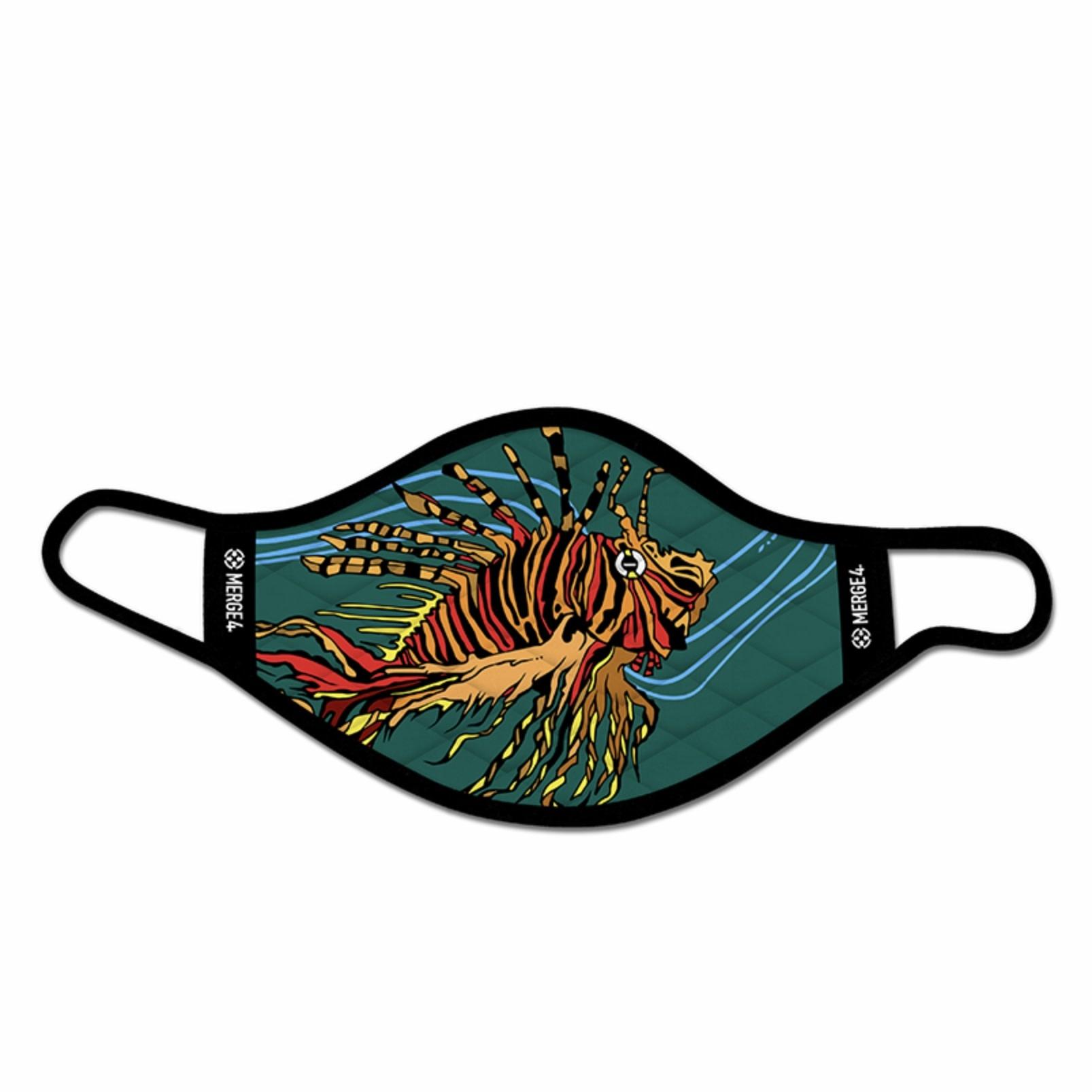 Merge 4 Merge 4 -Taylor Lion Fish Mask